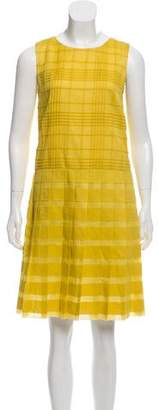 Tomas Maier Woven A-Line Dress w/ Tags