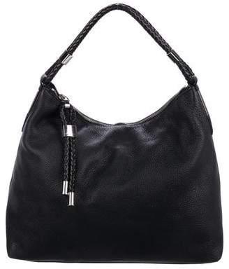 76d2d156ec6a Michael Kors Skorpios Pebbled Leather Shoulder Bag
