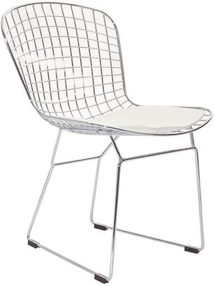 Modway Cad Dining Steel Metal Side Chair