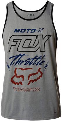 Fox Men's Throttled Tech Logo-Print Tank