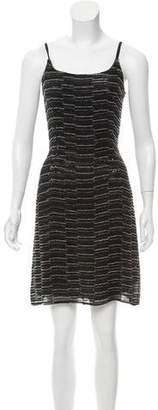 Giorgio Armani Embellished Mini Dress