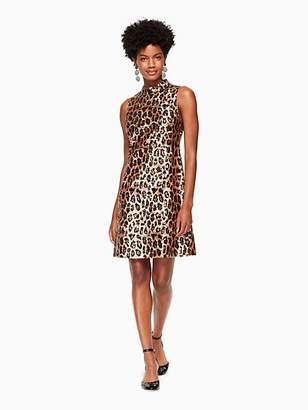 Kate Spade Leopard-print sequin dress