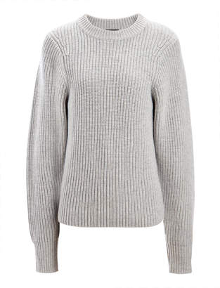 Joseph Purl Stitch Crew Neck Sweater