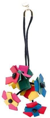 Loewe Multicolor Leather Keychain