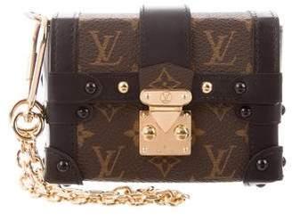 Louis Vuitton 2018 Monogram Essential Trunk Keychain