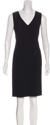 Gianni Versace Sleeveless Knee-Length Dress