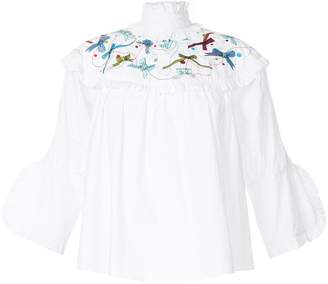 Romance Was Born Shepherdess blouse