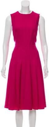 Akris Wool Midi Dress
