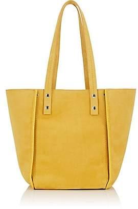 Fontana Milano Women's Ginger Suede Tote Bag - Yellow