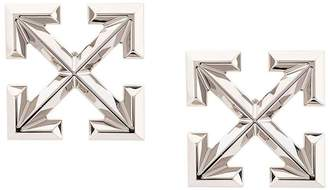 Off-White Off White big arrow earring silver