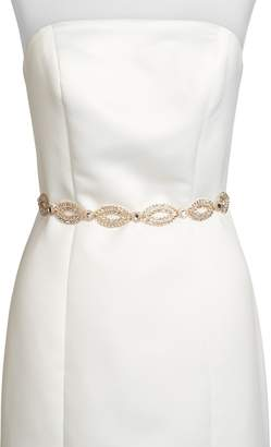 Kate Spade New York Fish Eye Crystal Bridal Belt