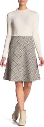 Paul & Joe Sister Plaid Print Skirt