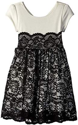 Bonnie Jean Girls' Little Lace Party Dress