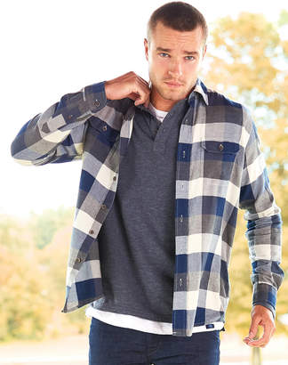 Tailor Vintage Buffalo Plaid Long Sleeve Button Down Shirt