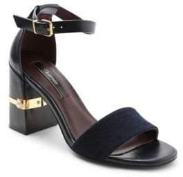 Kensie Saleema Block Heel Sandals