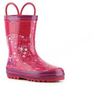 Disney Barbie Girls Toddler Rain Boot