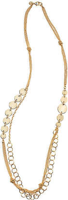 Bold Elements Womens Circle Collar Necklace