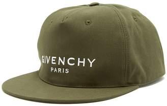 Givenchy Logo cotton baseball cap