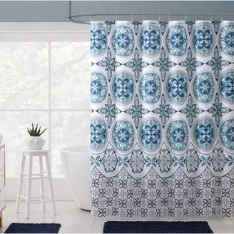 Winston Porter Bannock Medallion Boho Printed Shower Curtain