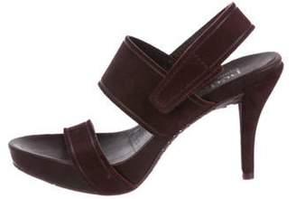 Pedro Garcia Suede Strap Sandals Suede Strap Sandals
