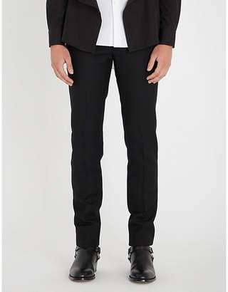 Alexander McQueen Zip-waist regular-fit tapered wool trousers