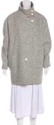 IRO Linen-Blend Short Coat