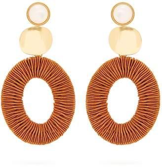 Lizzie Fortunato Harvest Moon drop earrings