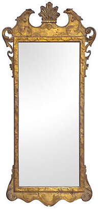One Kings Lane Vintage Antique Gilt Chippendale-Style Mirror