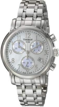 Tissot Women's T0502171111200 T-Classic Analog Display Quartz Silver Watch