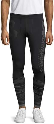 Superdry Graphic Banded Leggings