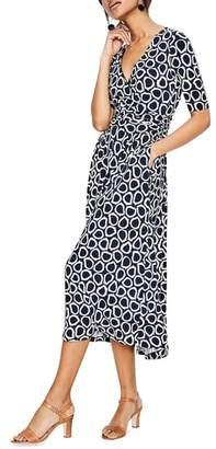 Boden Kassidy Print Jersey Midi Dress