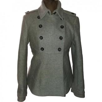 Calvin Klein Grey Wool Coat for Women