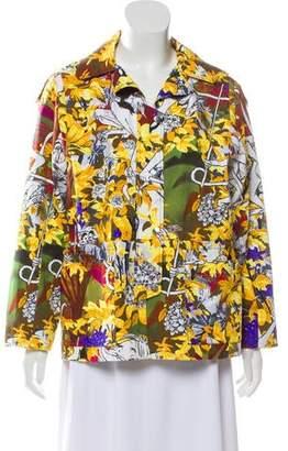 Kenzo Printed Zip-Up Jacket