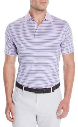 Peter Millar Men's Dartmouth Stripe Jersey Polo Shirt
