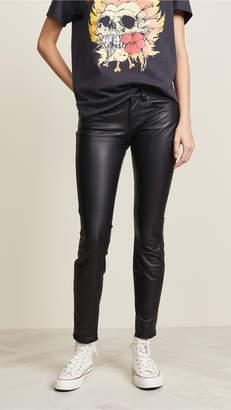 R 13 Alison Skinny Leather Pants