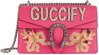 Gucci Small Embellished Dionysus Shoulder Bag