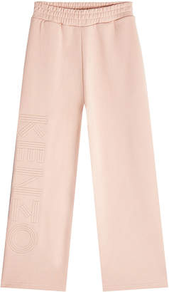 Kenzo Cropped Cotton Sweatpants
