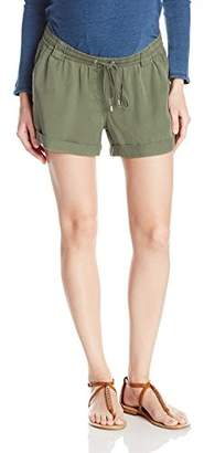 Ripe Maternity Women's Tencel Combat Shorts