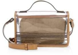 Brunello Cucinelli Illusion PVC Top Handle Shoulder Bag