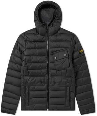 Barbour International Ouston Hooded Quilt Jacket