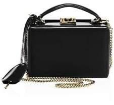 Mark Cross Grace Mini Leather Box Crossbody Bag
