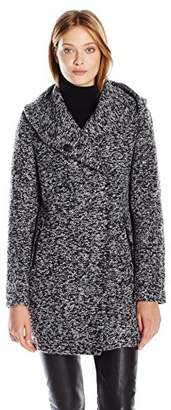 Kenneth Cole Women's Novelty Wool Coat $84.08 thestylecure.com