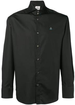 Vivienne Westwood logo embroidered shirt