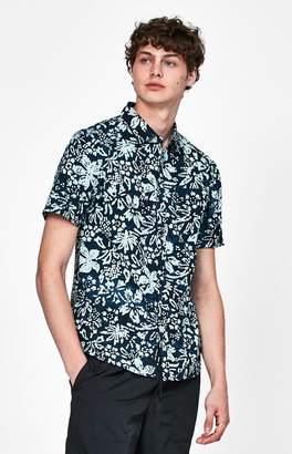 Vans Trippin Batik Short Sleeve Button Up Shirt