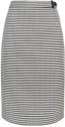 Claudie Pierlot Houndstooth Skirt
