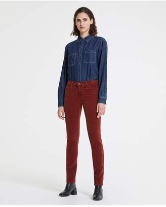 AG Jeans The Prima - Sulfur Tannic Red