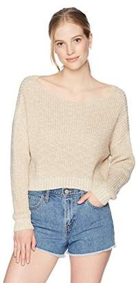 Obey Junior's Weekender Oversized Chunky Sweater