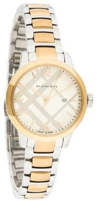 Burberry Classic Watch $375 thestylecure.com
