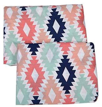 Bacati Emma Aztec Fitted Crib Sheets