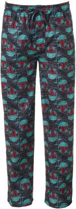 Big & Tall Star Wars Boba Fett Microfleece Lounge Pants